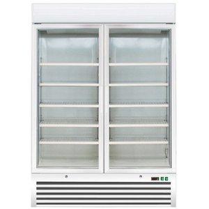 Saro Zamrażarka wentylowana - 2 drzwiowa | -18° do -24°C | 920 l