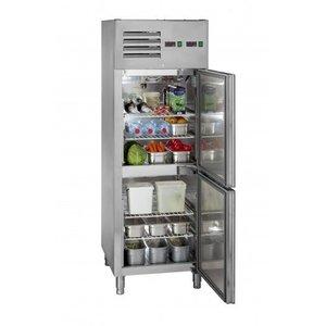 Saro Het kabinet cooling-invriezen   -20 ° tot + 4 ° C   2 deuren - 2x128 l