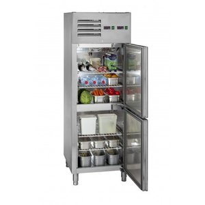 Saro Szafa chłodniczo-mroźnicza |-20° do +4°C | 2 drzwiowa - 2x128 l
