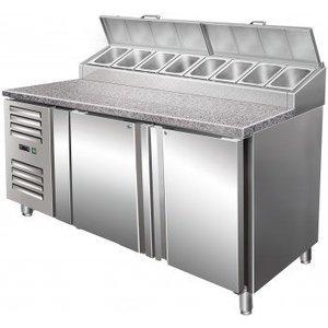 Saro Zubereitungstisch mit Umluftventilator SH 1500