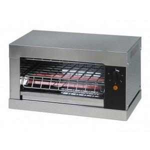 Saro Toaster mit Heizgeräten Quarz-Timer-Funktion | 440x260x250 mm