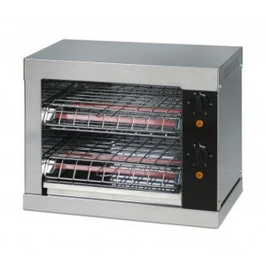 Saro Broodrooster met kwarts heater timerfunctie | 440x260x250 mm