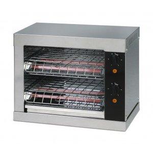 Saro Toaster with quartz heater timer function | 440x260x250 mm