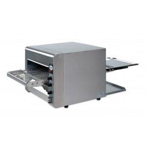 Saro Opiekacz taśmowy z kwarcową grzałką | 470x105 x400 mm | 230 V