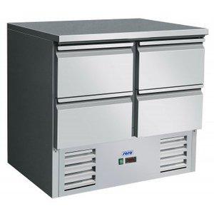 Saro Stół chłodniczy - 4 szuflady | +2° do +10°C