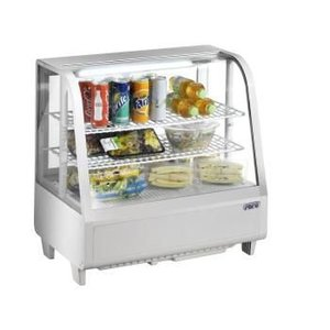 Saro Refrig. Table Top Display Model KATRIN WHITE