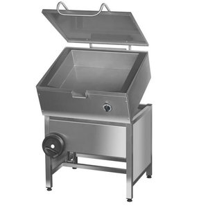 Kromet Tilting frying pan, Smooth   50 to 275 ° C   37L