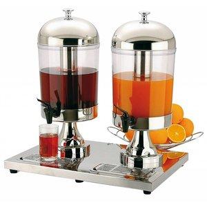 APS Juice Dispenser Inox Star Duo