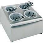 APS Container for cutlery 4 Partial Stainless Steel