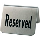 APS 'Reserved' plate Set of 2 pieces