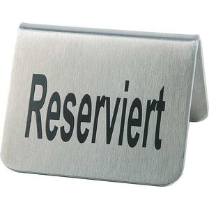 APS Tabliczka 'Reserviert' | Zestaw 2 szt.