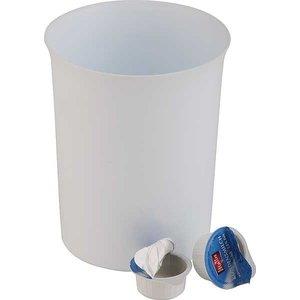 APS Stołowy Pojemnik na Odpadki z Tworzywa San | Ø110x140 mm