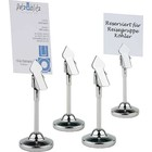 APS Stand with Clip Stainless | Ø40x100 mm | Set of 4 pcs.