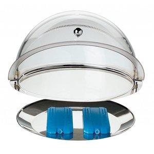 APS Witrynka Chłodzona Roll-Top | Okrągła Ø380x240 mm