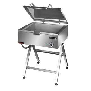 Kromet Tilting frying pan, Smooth | 50 to 275 ° C | 37L