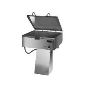 Kromet Kantelen koekenpan, Smooth | 50-275 ° C | 37L