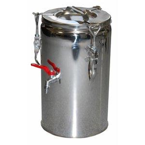 RM GASTRO Termos stalowy z kranem | 10 L