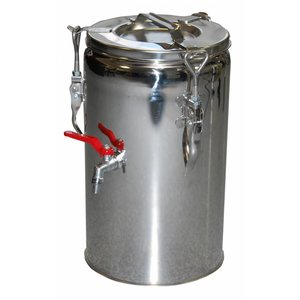 RM GASTRO Stalen thermos met kraan | 20 L