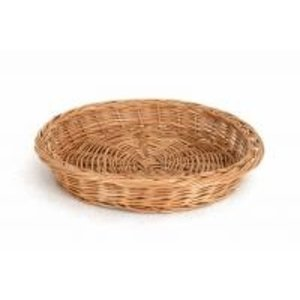 TOM-GAST Okrągły Koszyk Wiklinowy | Ø 38 cm