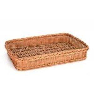 TOM-GAST Wicker basket GN 1/1 | rectangular | 53x32,5 cm