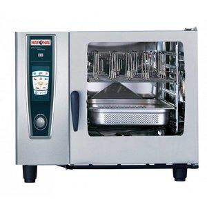Rational De combi-steamer   Benodigdheden   400V   6 x GN2 / 1 of 12 x GN1 / 1