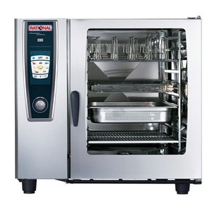 Rational Combi steamer   Supplies   400V   10 x GN2 / 1 or 20 x GN1 / 1