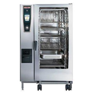 Rational De combi-steamer | Gas | 230 | 20 x GN2 / 1 of 40 x GN1 / 1