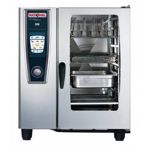 Rational Combi steamer | Gas | 230 | 10 x GN1 / 1 or 20 x GN1 / 2