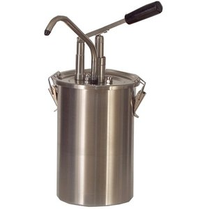 Saro Dispenser for sauces | stainless steel | 4.5 L