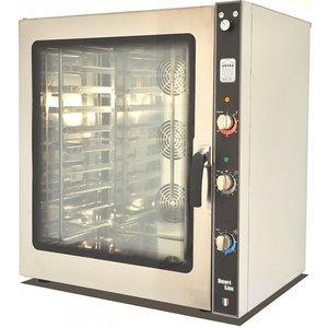 Soda Pluss Piec konwekcyjno-parowy   elektryczny   400V   10 GN 1/1