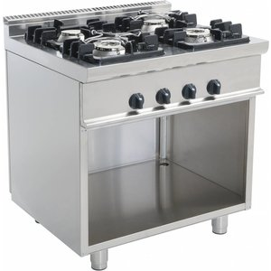 Saro Oven | 4 burners | 800x700x850mm