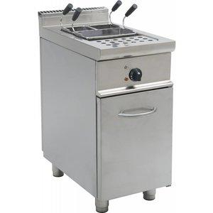 Saro Apparaat voor het koken van pasta | 28 liters | 40x70x85cm | 400V | 7kW