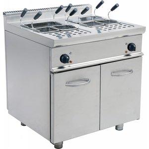 Saro Eine Vorrichtung zum Kochen von Nudeln | 2 x 28 L | 80x70x85cm | 400 V | 14kW
