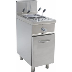 Saro Apparaat voor het koken van pasta | Gas | 28 l | 40x70x85cm | 11 kW