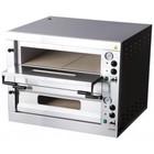 RedFox Piec do pizzy | 2-poziomowy | 980x920x760mm | 2 x Ø35 cm