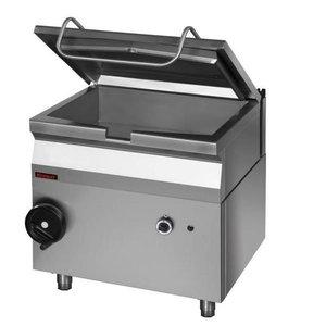 Kromet Gas tilting pan capacity. 50L Manual