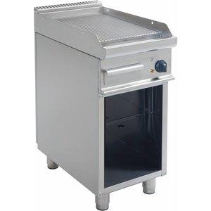 Saro Grill elektryczny | ryflowany | 395x530mm | 400V / 5,4 kW