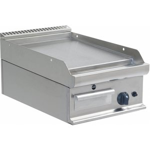 Saro Gas Grill | Smooth | 395x530mm | 6 kW