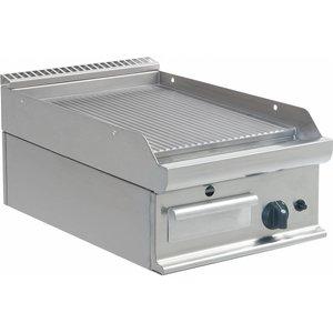 Saro Grill gazowy | ryflowany | 395x530mm | 6 kW