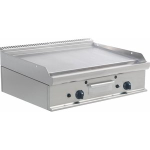 Saro Płyta grillowa gazowa gładka nastawna | 790x530mm | 12000W