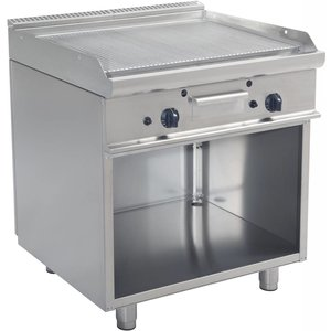 Saro Gas barbecue op basis | prismatische | 790x530mm | 12 kW