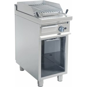 Saro Lava gas grill on the basis | 400x700x850mm | 8 kW