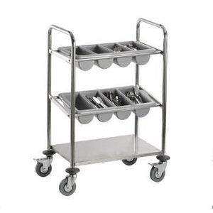 Saro Cutlery trolley Model INES