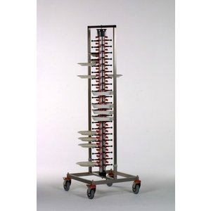 Saro Mobile plate rack Plate Mate PM-84 STANDARD