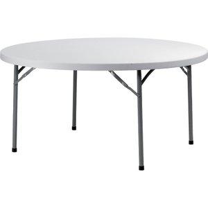 ZOWN Stalowy stół okragły | 152.4x74.3 cm