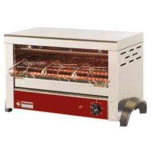 Diamond Toaster 3 Zangen Quarz | 485x255xh240 mm