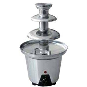 Optimal Czekoladowa fontanna ze stali nierdzewnej | 600 g | 90W | 220-240V | śr. 190x(H)330mm