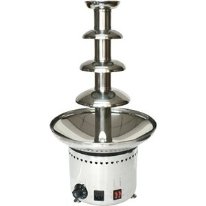 Optimal Profesjonalna fontanna czekoladowa 60 cm | max 4 kg | 230W | 220-240V | 330x(H)600mm