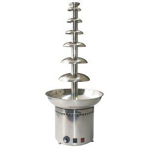 Optimal Profesjonalna fontanna czekoladowa 102 cm | 10 kg czekolady