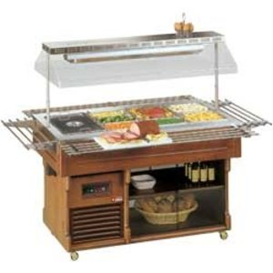 Diamond Buffet verwarming + 30 ° + 90 ° | 230 V